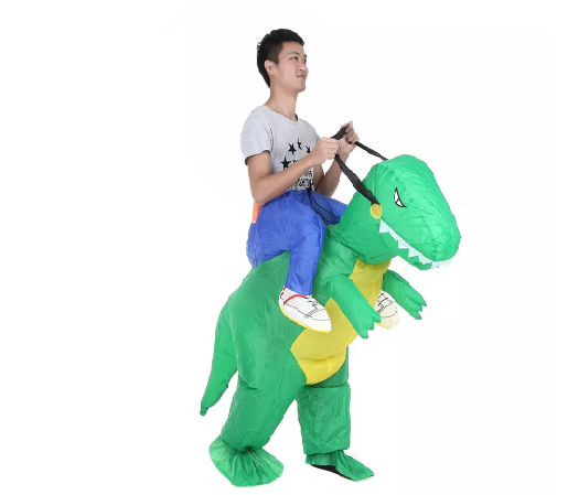 fantasia de dinossauro Simples