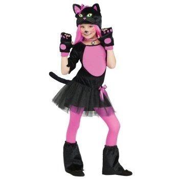 fantasia de gatinha Infantil