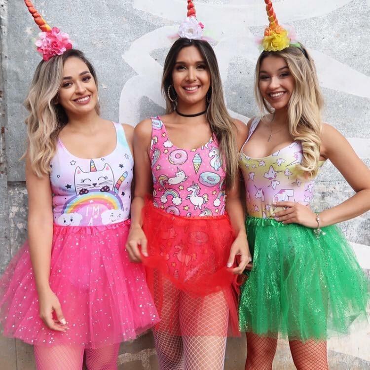fantasia de unicórnio Carnaval