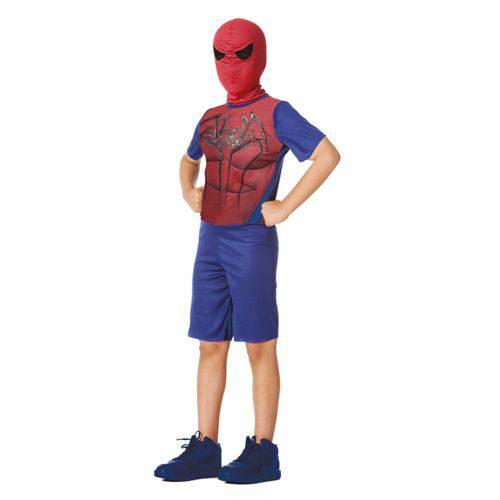 fantasia homem-aranha Improvisada