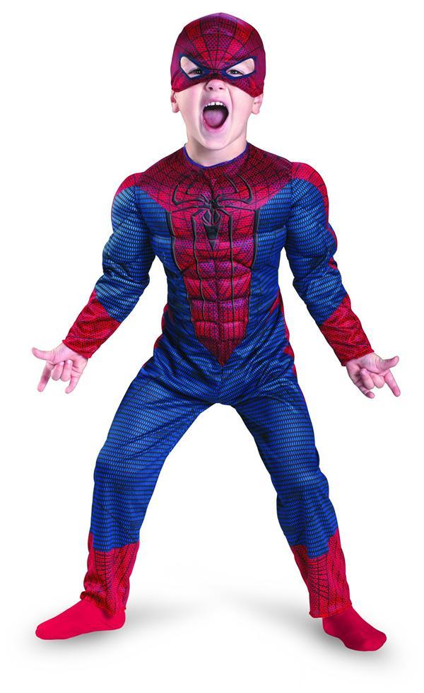 fantasia homem-aranha Infantil