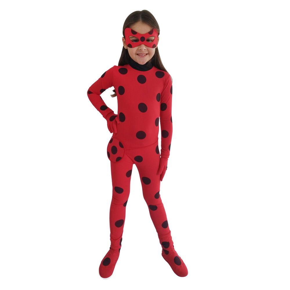 fantasia ladybug Macacão