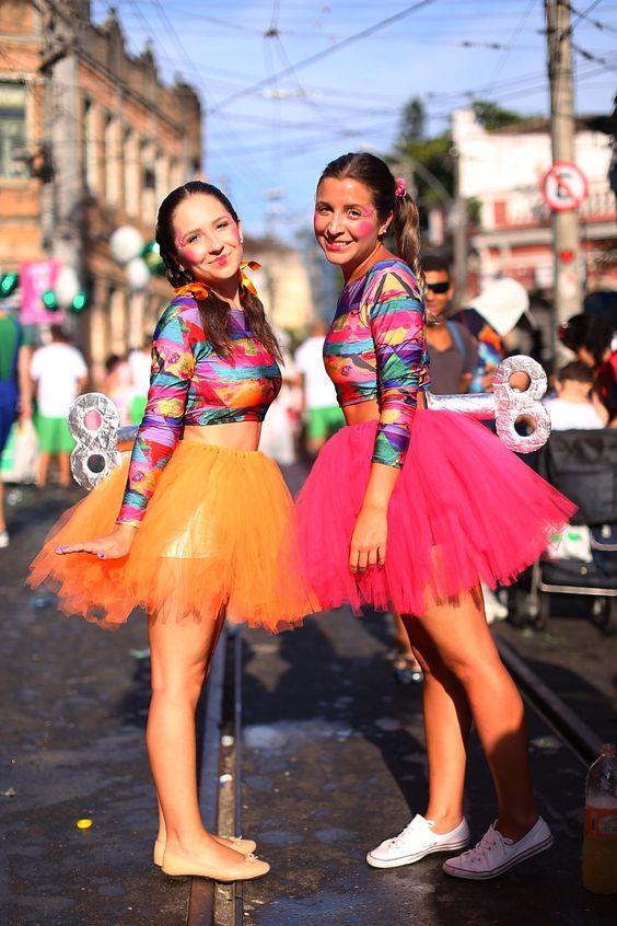 fantasia simples Carnaval