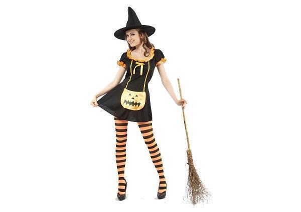 fantasia simples Hallowen