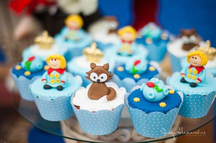 Cupcake Pequeno Príncipe Cupcake Pequeno Príncipe