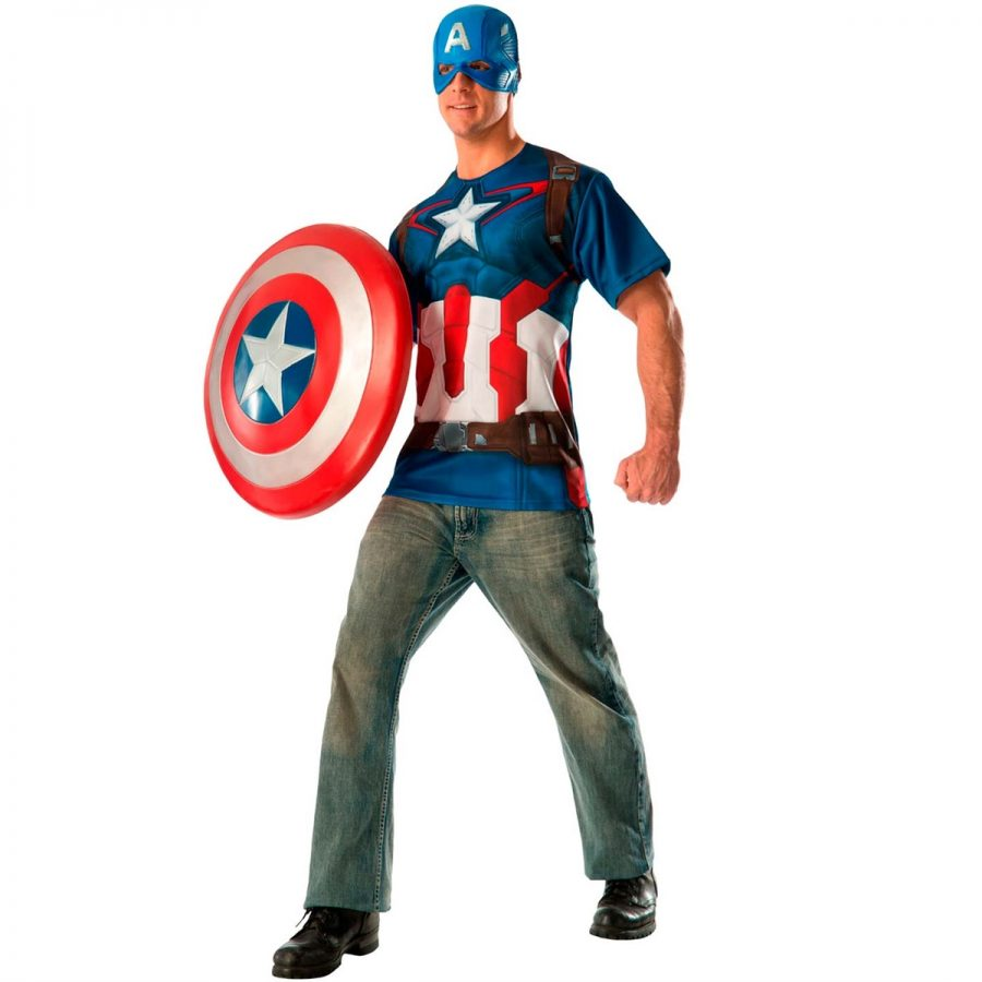 Fantasia Capitão América Simples