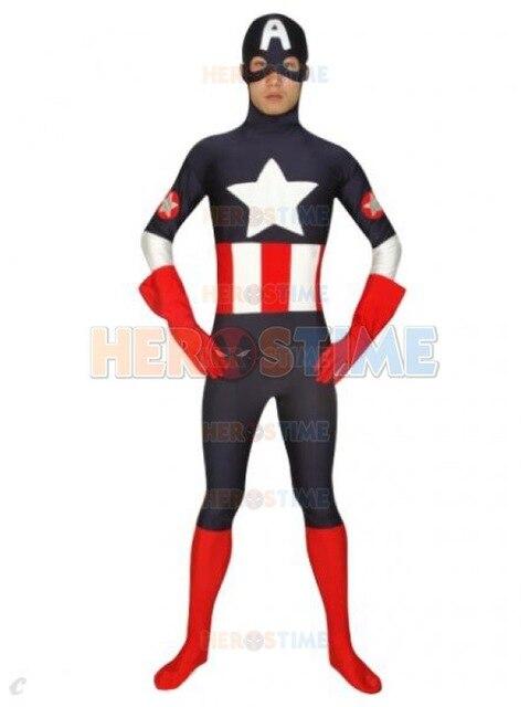 Fantasia Capitão América Masculina