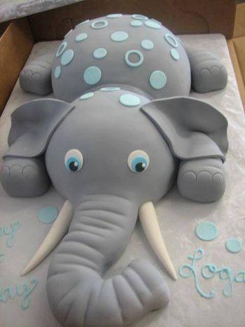 Bolo Elefantinho Pasta americana