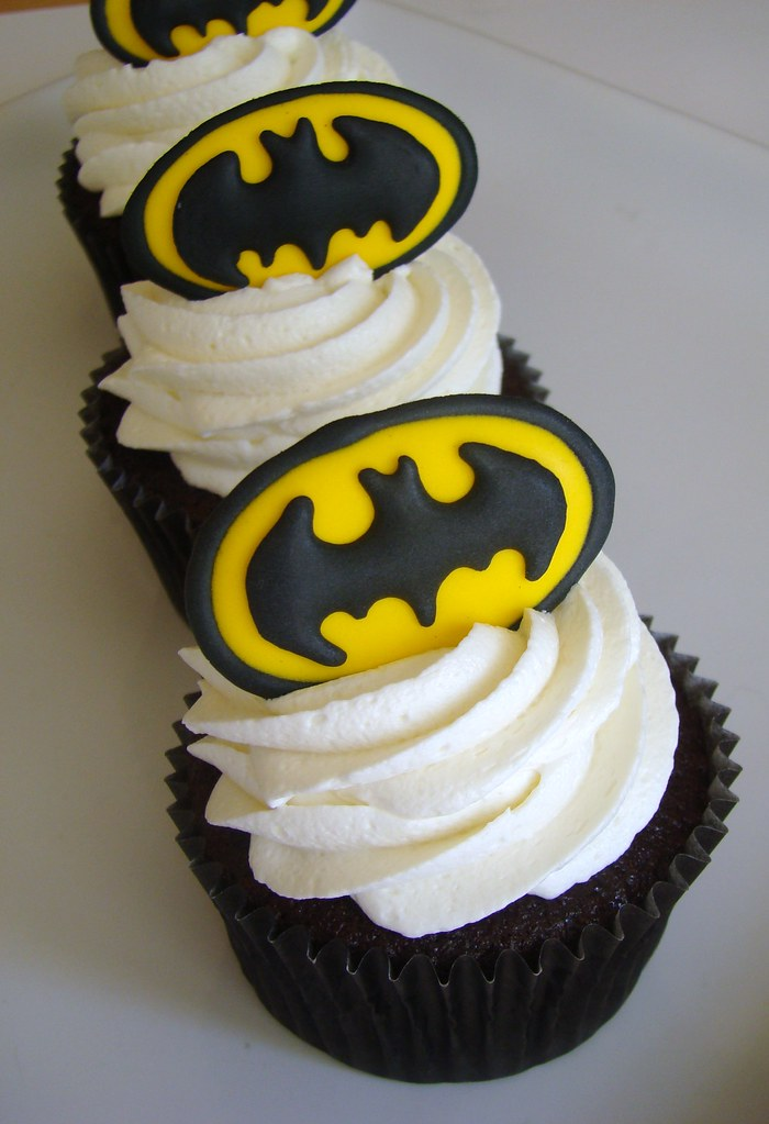 cupcake do batman Chantilly