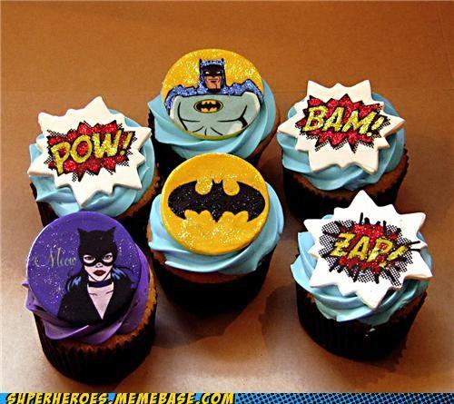 cupcake do batman Personalizado
