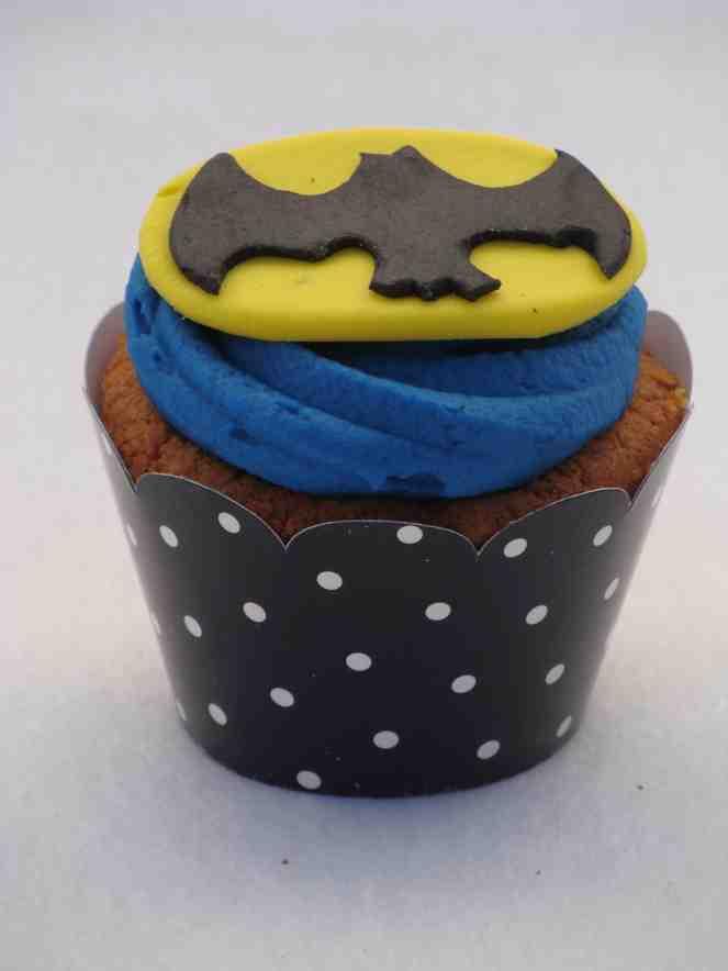 cupcake do batman Simples