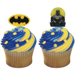 cupcake do batman Topo de Cupcake do Batman