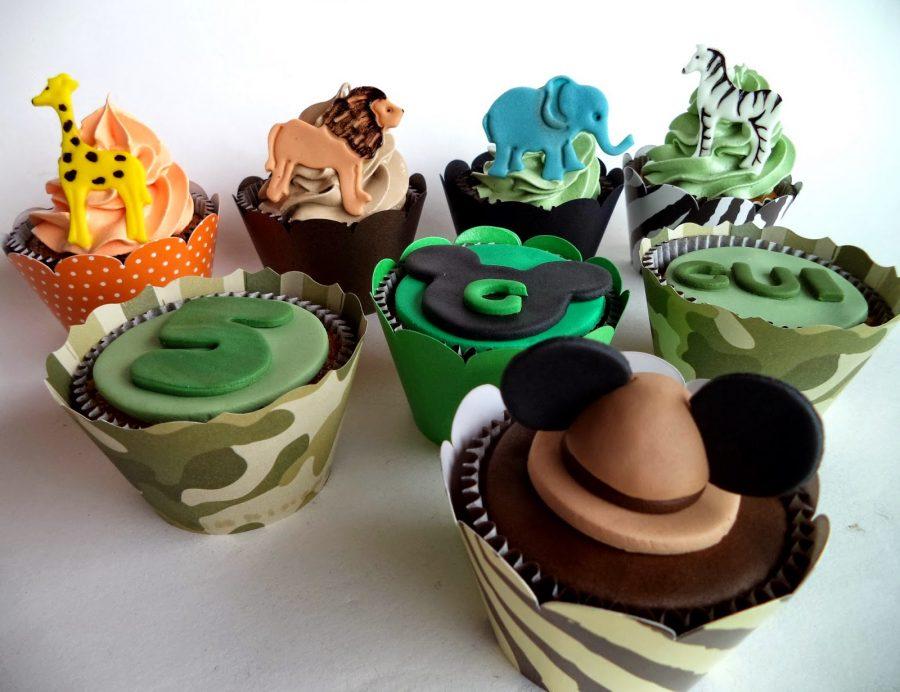 Cupcake Mickey Mickey safari