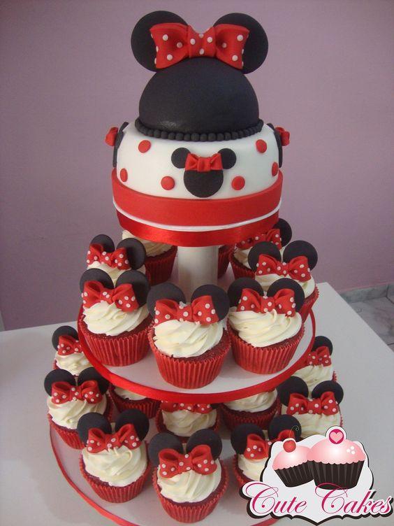 Cupcake Mickey Topo