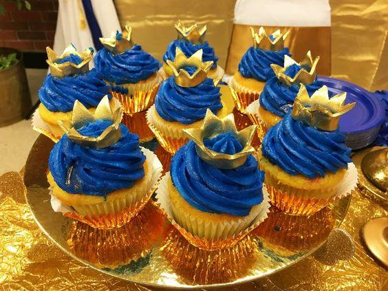 Cupcake Pequeno Príncipe Simples