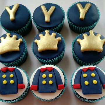 Cupcake Pequeno Príncipe Pasta americana