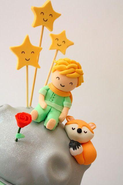 Cupcake Pequeno Príncipe Topo