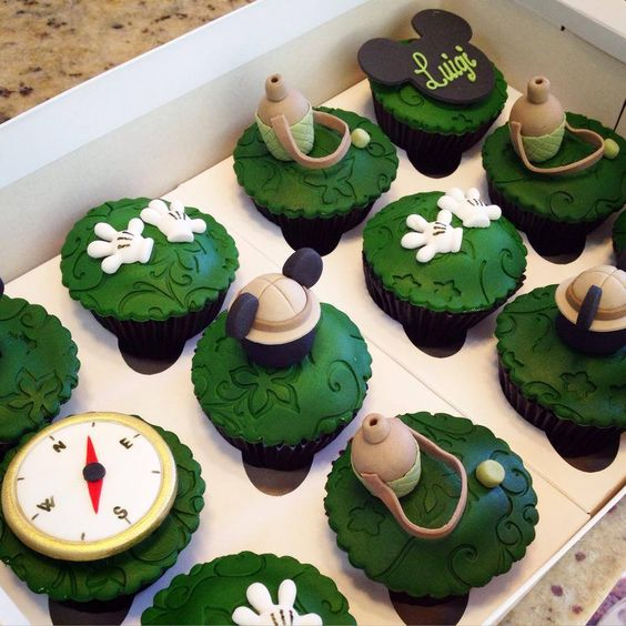 Cupcake Safari Safari Mickey