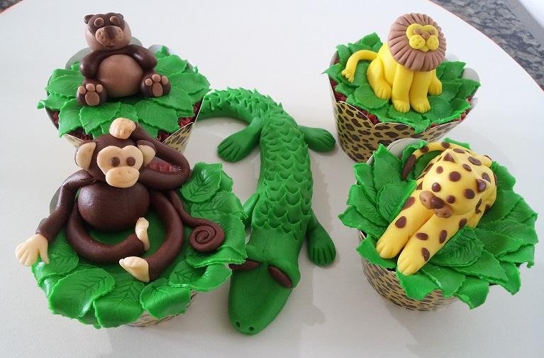 Cupcake Safari Pasta americana