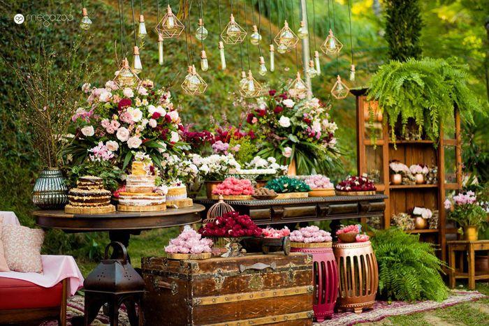 decoracao de casamento Ao Ar Livre