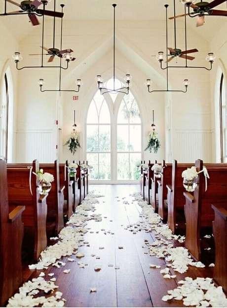 decoracao de casamento Na Igreja