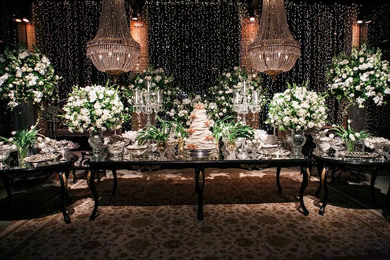 decoracao de casamento Preto