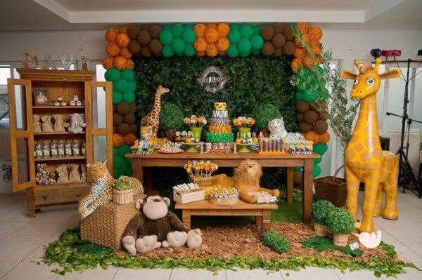 festa infantil Animais da Floresta