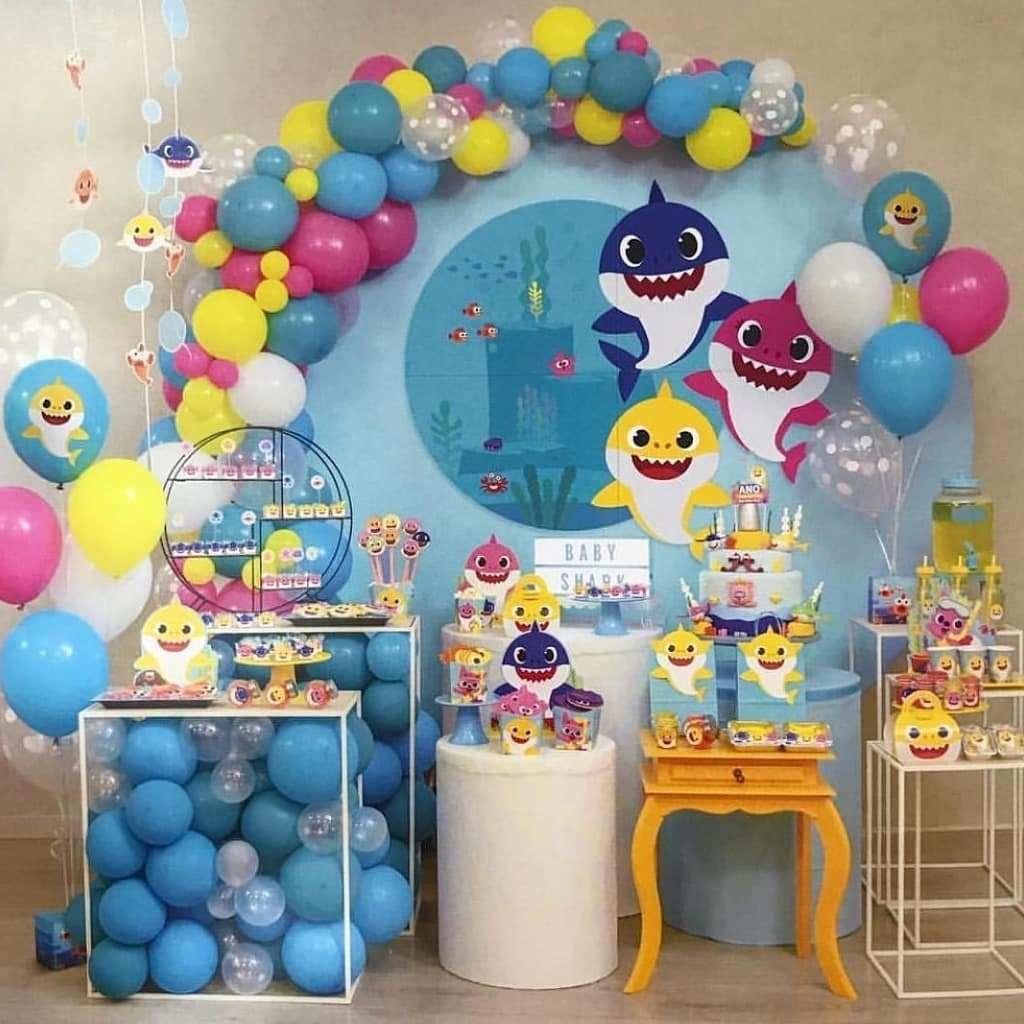 festa infantil Baby Shark