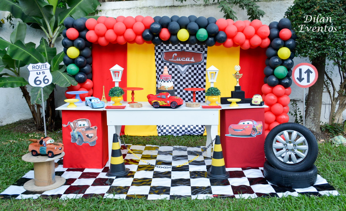 festa infantil Carros