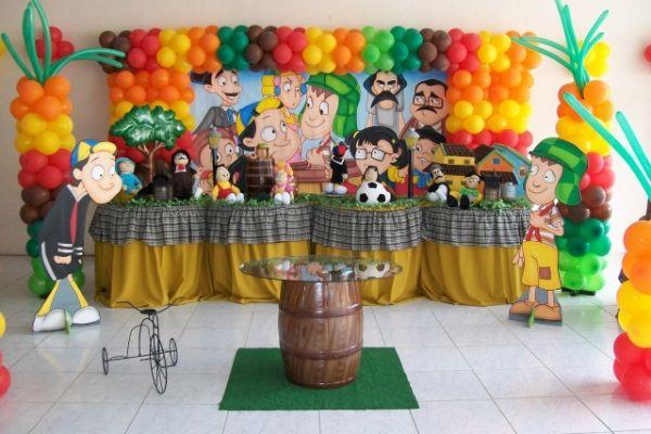 festa infantil Chaves