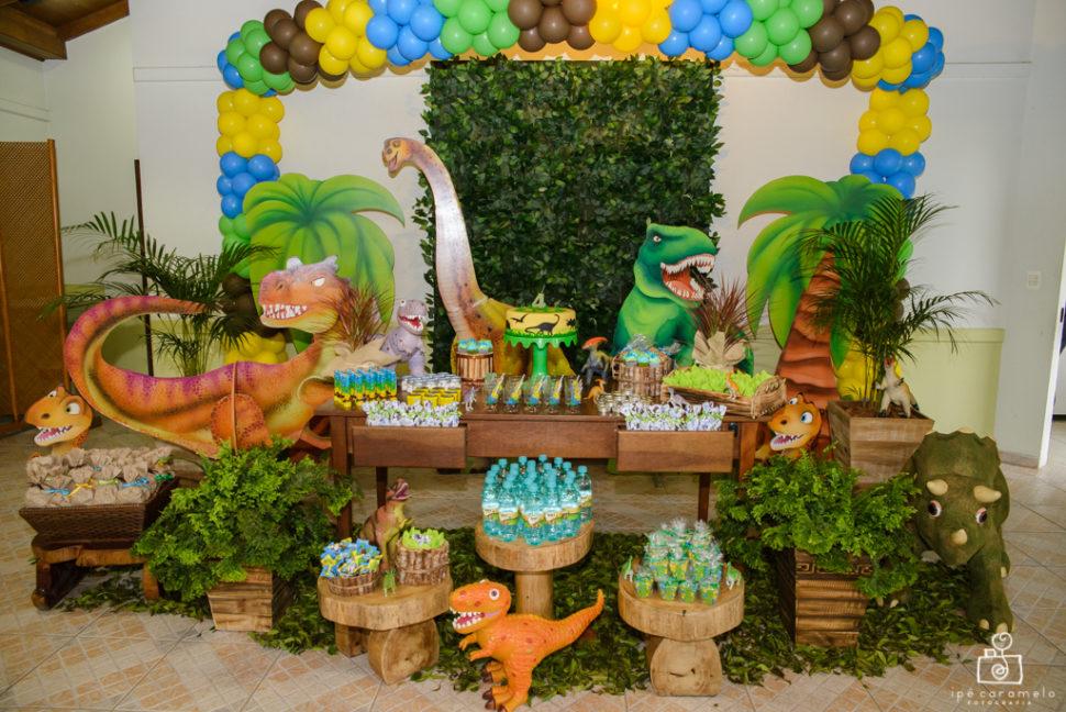 festa infantil Dinossauro