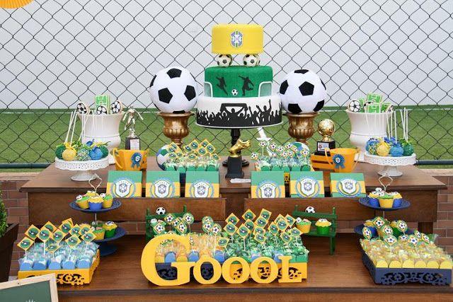 festa infantil Futebol