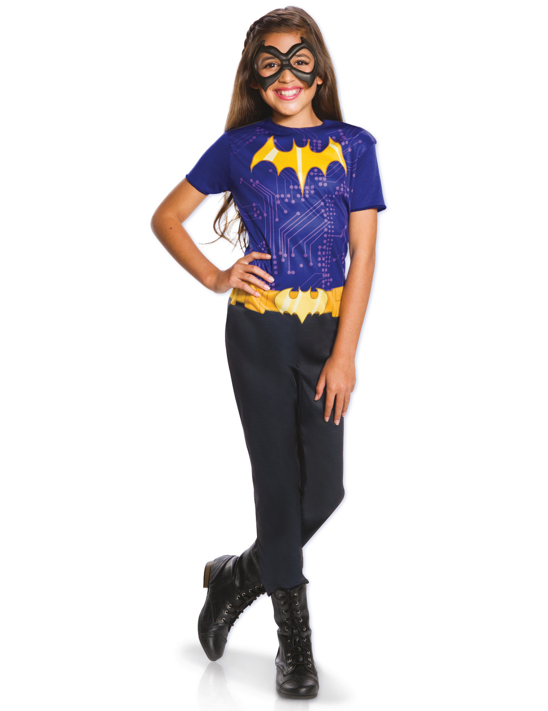 fantasia batgirl Simples