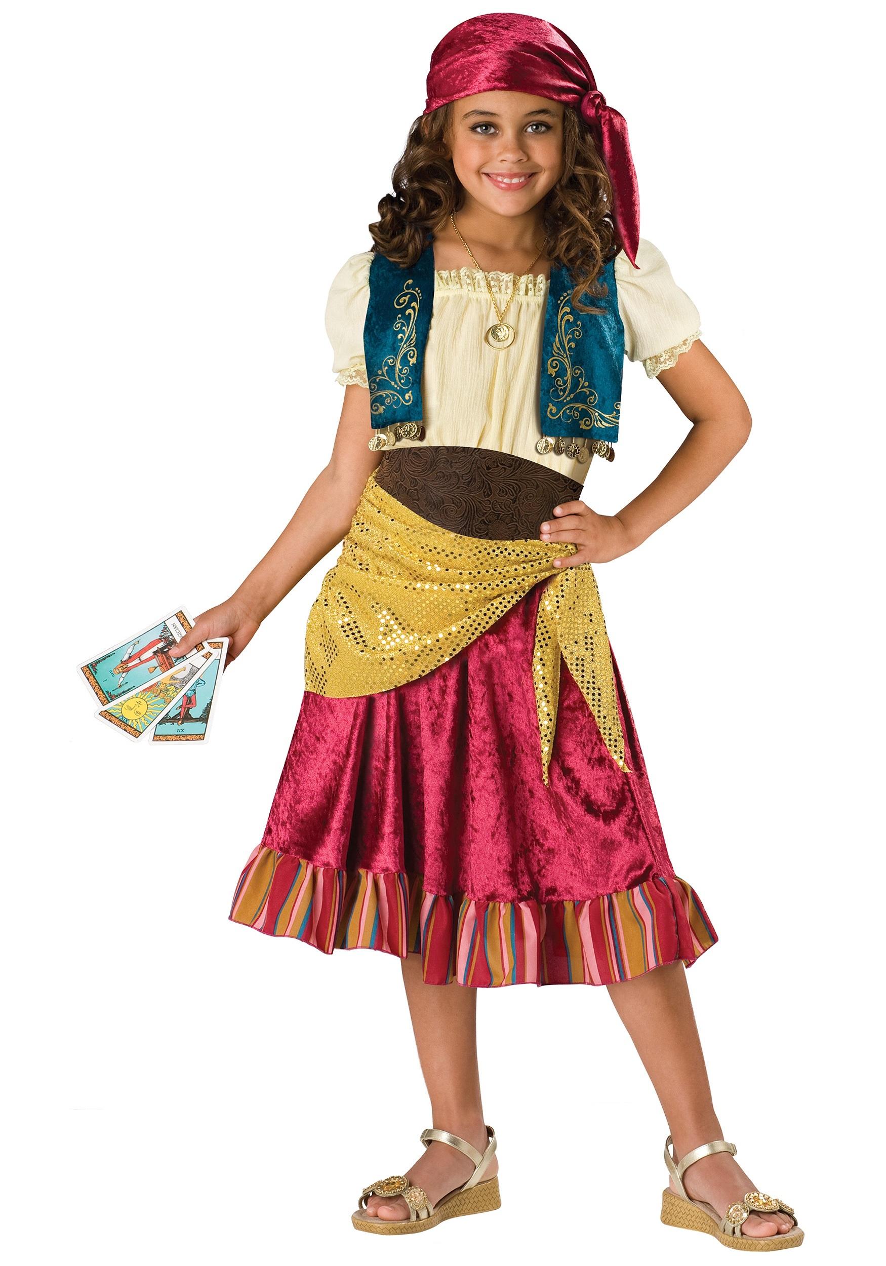 fantasia cigana Infantil