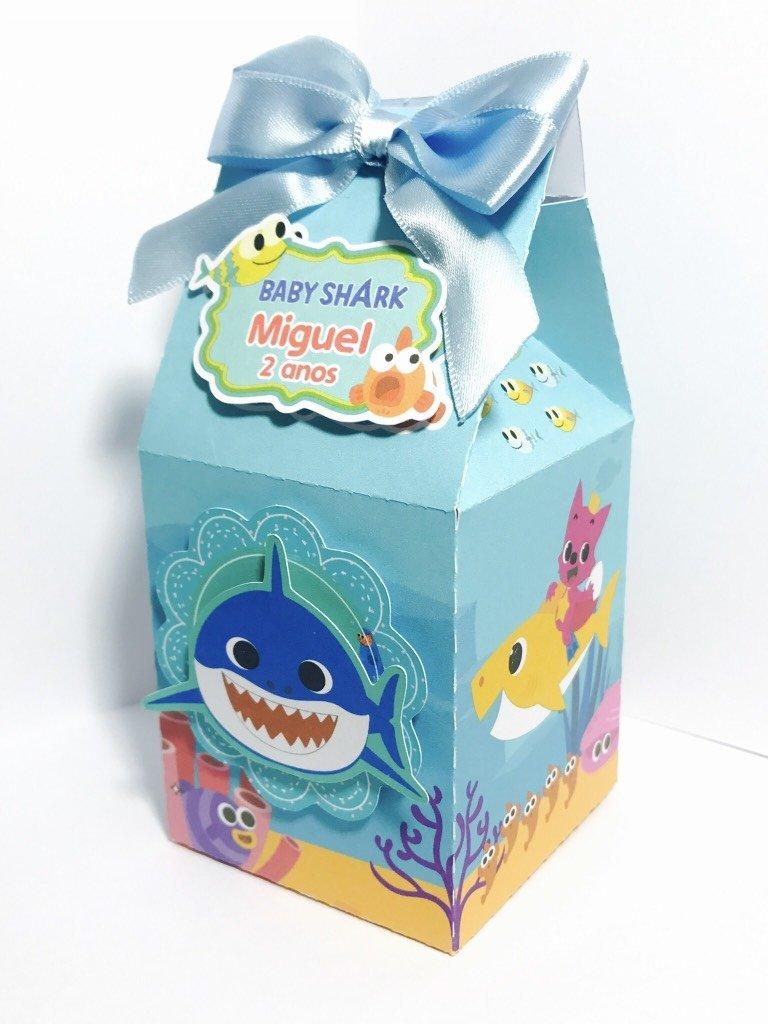 festa baby shark Lembrancinhas