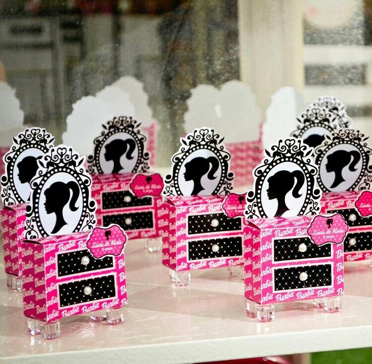 festa barbie Lembrancinhas