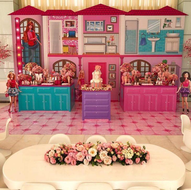 festa barbie Luxo