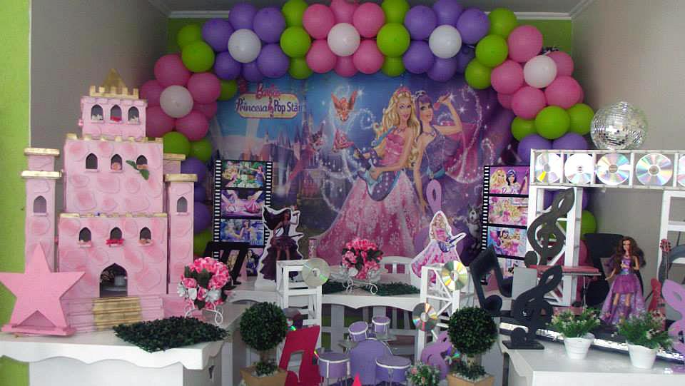 festa barbie Pop Star