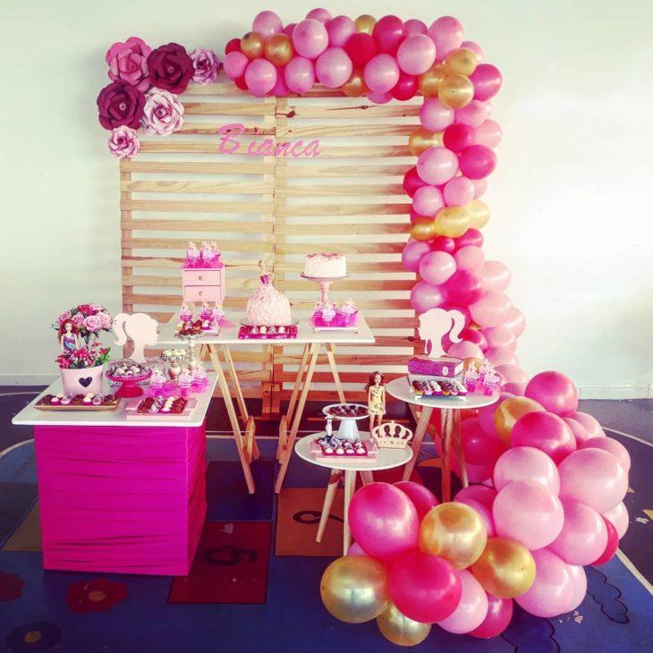 festa barbie Simples