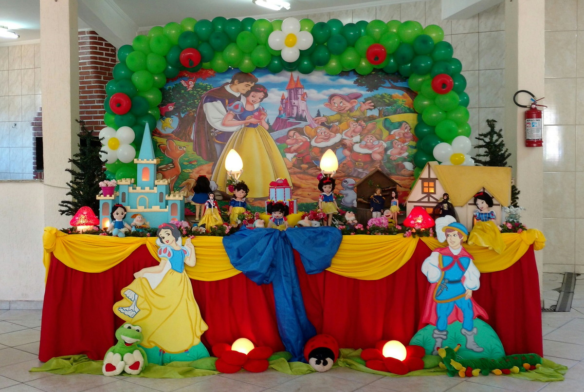 Festa Branca de Neve Infantil
