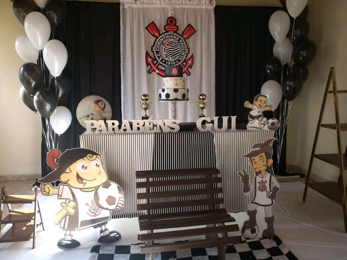 festa corinthians Infantil
