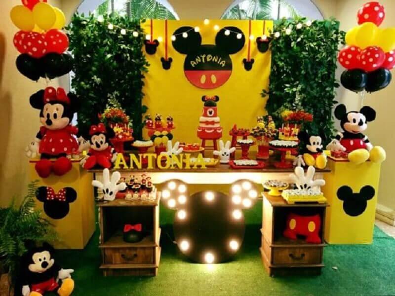festa do mickey E Minnie