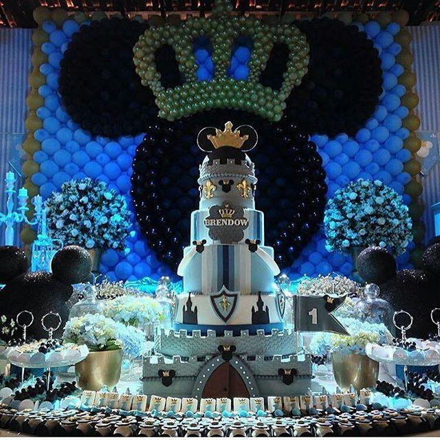 festa do mickey Luxo