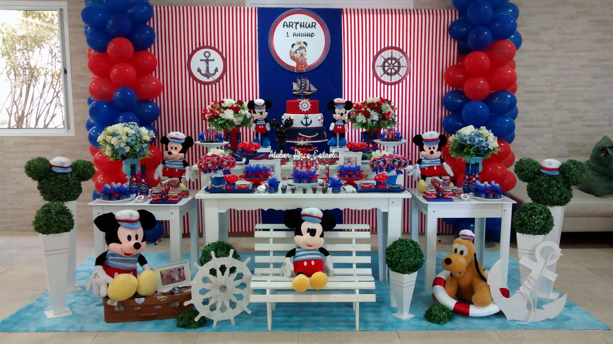 festa do mickey Marinheiro