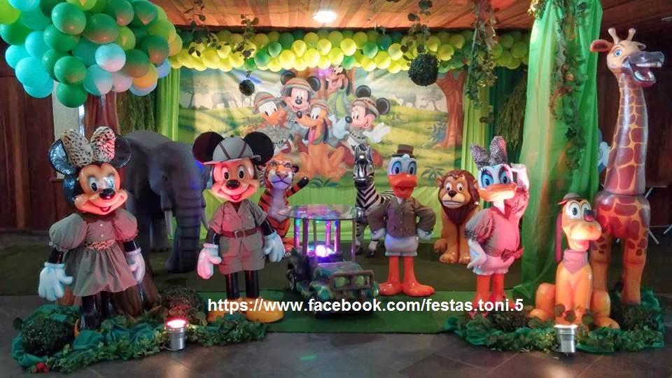 festa do mickey Safari