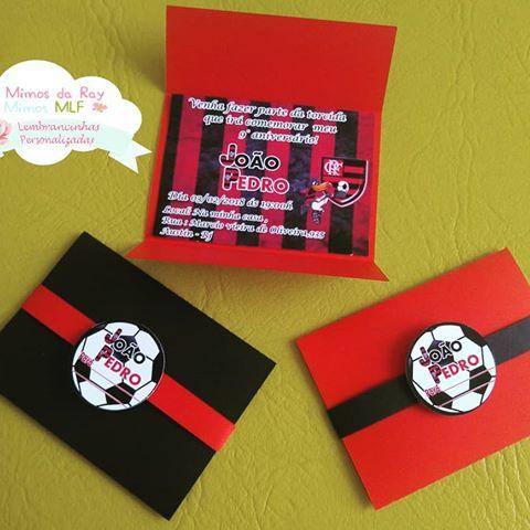 festa flamengo Convite