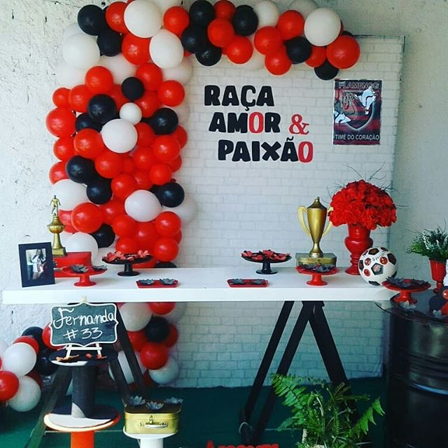 festa flamengo Feminina