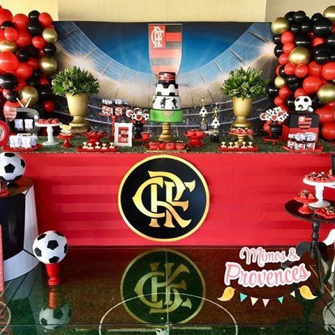 festa flamengo Luxo