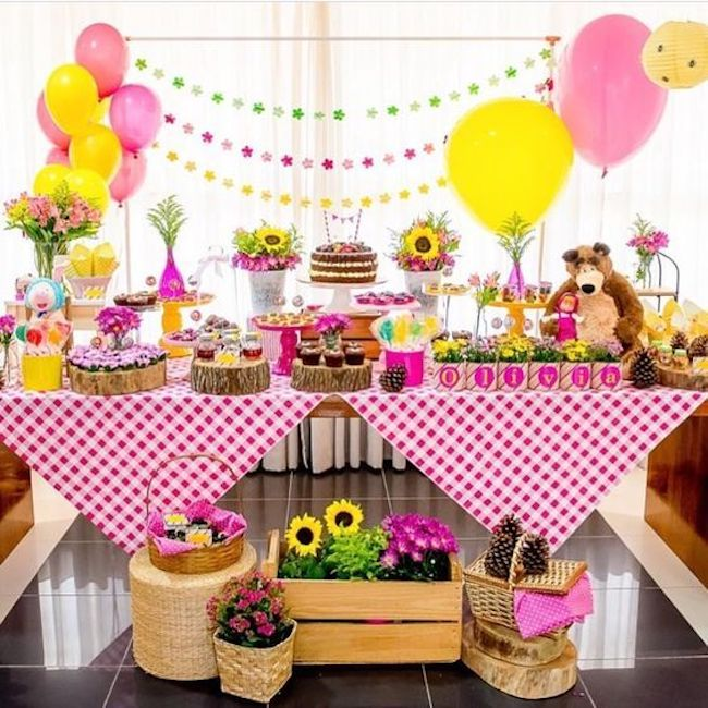 festa girassol Infantil