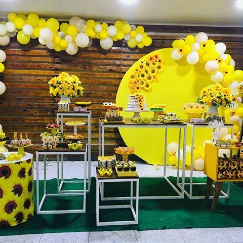festa girassol Luxo